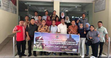 Dinas Peternakan dan Kesehatan Hewan Provinsi Sulawesi Selatan Studi Banding ke Dinas Pertanian DIY