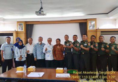 Rapat Akselerasi Sergap D.I. Yogyakarta